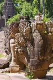 Sculpture en Naga Photos stock