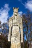 Sculpture en Neagoe Basarab - seigneur roumain médiéval photo libre de droits