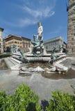 Sculpture en Neptune images libres de droits