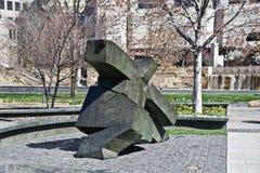 Sculpture en parc de jardin de ville, St Louis du centre, Missouri Photos libres de droits