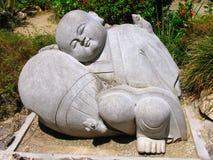 Sculpture en pierre Image libre de droits