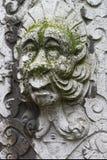 Sculpture en pierre en mur de visage dans la vieille ville de Solothurn Photo libre de droits