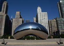 Sculpture en porte de nuage, Chicago Image libre de droits