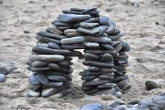 Sculpture en roche Photos libres de droits