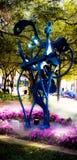 Sculpture en rue de Sarasota Photos stock