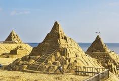 Sculpture en sable Image libre de droits