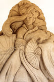Sculpture en sable Images libres de droits
