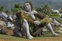 Sculpture en Santa ursula, Ténérife, Espagne image stock