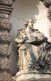 Sculpture en Shakespeare - opéra de Sempera - Dresde Image libre de droits
