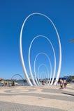 Sculpture en Spanda : Elizabeth Quay Photographie stock