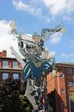 Sculpture en théâtre de maison de théâtre, Nottingham images stock
