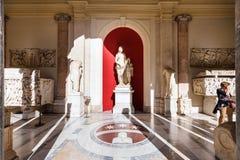 Sculpture en Venus Felix dans la galerie des statues Photos stock