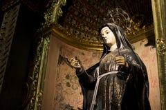 Sculpture en Vierge Photographie stock libre de droits