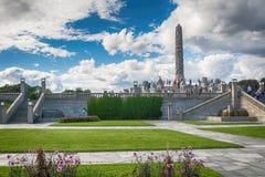 Sculpture en Vigeland en parc de Frogner à Oslo Photos libres de droits