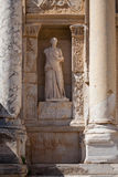 Sculpture in Ephesus. Turkey Stock Photography