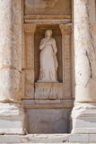 Sculpture in Ephesus. Turkey Royalty Free Stock Photos