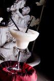 Sculpture et cocktail Image libre de droits