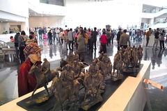 Sculpture exhibition Royalty Free Stock Image