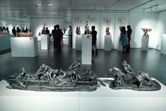 Sculpture exhibition Stock Photo