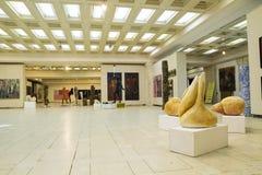 Sculpture exposition. Brancusi hall, 2012 - 2013 Stock Photos
