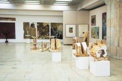 Sculpture exposition. Brancusi hall, 2012 - 2013 Royalty Free Stock Photos