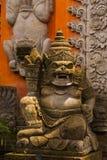 sculpture Fachada da porta do Balinese do templo Ubud bali Fotos de Stock