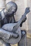 Sculpture of Fado musician Royalty Free Stock Photos