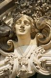 Sculpture in the famous Zwinger Palace and Park Complex in Dresden, Germany. Stock Photography