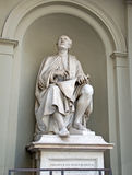 Sculpture of Filippo Brunelleschi, the first modern architect, Firenze, Italy Royalty Free Stock Images