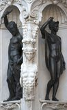 Sculpture in Florence Stock Photography