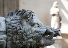 Sculpture in Florence Royalty Free Stock Image