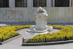 Free Sculpture-fountain Children And The Frog In Odessa Stock Images - 58562004