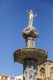 Sculpture of the Fountain of the Giants, Plaza de Bibarrambla, G Royalty Free Stock Photo