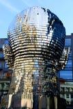 Sculpture of  Franz Kafka Stock Photography