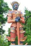 Sculpture géante thaïe Photographie stock libre de droits