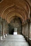 Sculpture Gallery. Gallery of sculptures near Elephants' Stable at Hampi, Karnataka, India, Asia Stock Photo