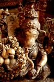 Sculpture of Ganesh. Traditional bronze sculpture of Ganesh a spiritual deity in indian mythology Stock Photos