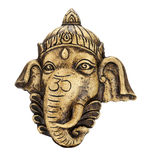 Sculpture of Ganesh. Isolate on white Stock Images