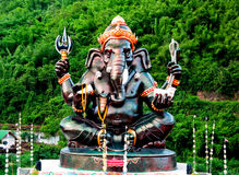 The Sculpture of ganesha Stock Photo