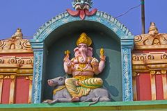Sculpture of Ganesha Stock Image