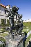Sculpture in the garden royalty free stock photography