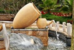 Sculpture, garden art design Stock Images