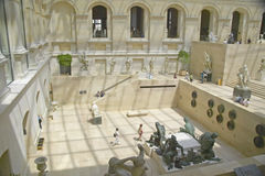 Sculpture Garden at the Louvre Museum, Paris, France Royalty Free Stock Photography