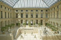 Sculpture Garden at the Louvre Museum, Paris, France Stock Photo