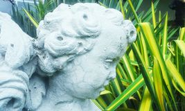 Sculpture in the garden Royalty Free Stock Photo