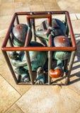 Sculpture garden in Scheveningen called SprookjesBeel den aan Zee Royalty Free Stock Photography