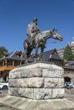 Monument to General Julio Argentino Roca stock image