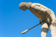 The sculpture General Melac in Hirsau Royalty Free Stock Photos