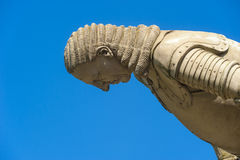 The sculpture General Melac in Hirsau Royalty Free Stock Photo