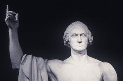Sculpture of George Washington by Horatio Greenough, Smithsonian Institute, WA Stock Photo